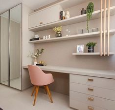 amazing home interiors Study Room Design, Home Room Design, Home Office Design, Home Office Decor, Home Decor Bedroom, Studio Living, Living Room, Cupboard Design, Aesthetic Bedroom