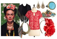 Frida Kahlo Style | Style Inspiration: Frida Kahlo ~ Trend de la Creme - Trends in fashion ...