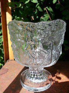 Bowl Rhapsody Kosta Boda Sweden glass summer by fcollectables, €22.50