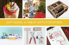 Need a gift for someone who normally would be making their own gifts? This is the gift guide for you.