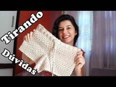 Hello Everyone, in todays video I will be showing you guys how to crochet a – SkillOfKing. Tops A Crochet, Crochet Pants, Crochet Skirts, Crochet Clothes, Crochet Lace, Bikinis Crochet, Crochet Bikini Top, Crochet Woman, Crochet Videos