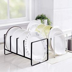 Bowls and dishes rack kitchen dishes shelf floor block Table storage rack cutter drainboard Dish Storage, Kitchen Storage Containers, Cheap Storage, Table Storage, Storage Racks, Cooking Dishes, Kitchen Dishes, Block Table, Dish Racks