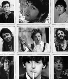 The many faces of Paul.