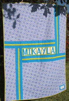 Love this quilt back - could use for the back of t-shirt quilts