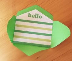 Free Printable Mini Envelope Templates and Envelope Liners ~ Clementine Creative