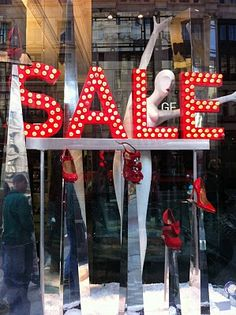 A love of Visual Merchandising: The best of the sales