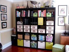 Storage idea... Maybe once we are more established. I'm not taking any of my books over.