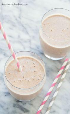 Cocoa-Almond Protein Smoothie - over 25 grams of protein, tastes like dessert!