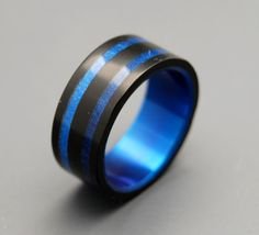 Wedding Rings Anium Wood Mens Bands Eco Friendly Royale