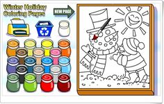 Fantastic Winter holiday coloring pages Game Christmas Games, Christmas Ideas, Winter Holidays, Coloring Pages, Seasons, Dates, Free Coloring Pages, Winter Scenes, Seasons Of The Year