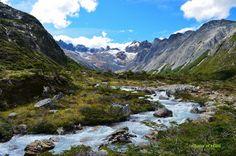 ruachuelo en Tierra del Fuego