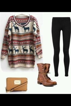 This would be so comfy to wear for Christmas!