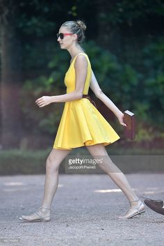Beatrice Borromeo is seen on August 2, 2015 in STRESA, Italy.