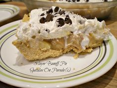 Spatulas On Parade: 5 layer Banoff Pie