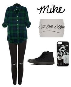 """""""#135"""" by ka-vip on Polyvore featuring Forever New and Converse"""
