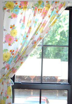 pillow case curtains