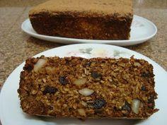 Ingredientes2 ovos2 maçãs com casca picada1 xícara de açúcar mascavo¼ xícara de óleo1 colher (chá) de canela em pó2 ½ xícaras de aveia fina½ xícara de farinha de trigo integral¾ xícara de castanha do
