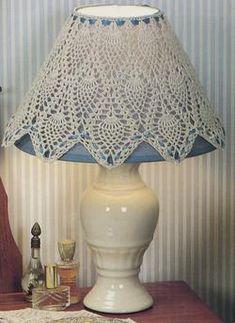 Crochet Pineapple Bedroom Lamp Shade Rug 12 Patterns