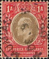 British East Africa and Uganda 1904 King Edward VII SG 18 Fine Used Scott 18 Other KUT Stamps HERE