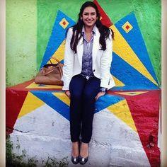 Ligia, nuestra representante en Venezuela, gran periodista y comunicadora corporativa, además de amiga.