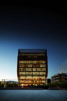 """One truly innovative building in Barcelona's so-called """"Innovation District"""" - uncube"""