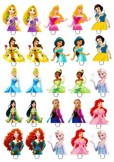 25 X Disney Princess Edible Wafer Peper Cup Cake Stand Up Toppers Image Bb Princess Cupcake Toppers Cinderella Belle by CreativeTouchhh Princess Birthday Cupcakes, Disney Princess Cupcakes, Princess Cupcake Toppers, Disney Princess Birthday Party, Edible Cupcake Toppers, Princess Cakes, Princess Birthday Centerpieces, Disney Princess Centerpieces, Birthday Crowns