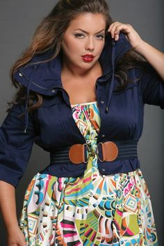 Jacket and belt combo w/dress