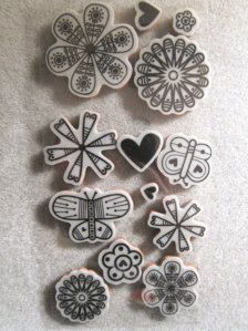 Rubber Stamps in Scrapbooking - Etsy Supplies