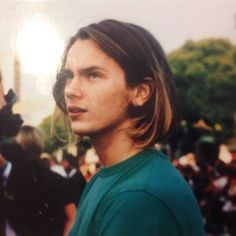 River Phoenix at Batman Premiere [1989]