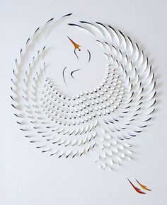 Hand Cut Paper Art: Australian artist Lisa Rodden has a certain grace when it comes to hand cut paper art. Each one of her delicate pieces is the result of a lot of planning, precise cutting, folding, and proper layering of paper and paints. Many of her works relate to the beauty of the world around us.