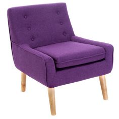 Home Loft Concepts Reese Tufted Fabric Retro Side Chair & Reviews | Wayfair