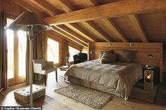 Attic turned into a Bedroom