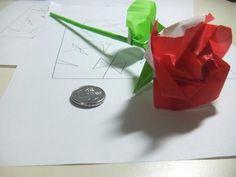 DIY Origami Rose DIY Origami DIY Craft