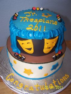 Jr Thespian cake
