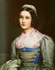 """Helene Sedlmayr"" by Joseph Karl Stieler, 1831 Painting People, Woman Painting, Artist Painting, Portraits Victoriens, Victorian Portraits, Oil Portrait, Painting Gallery, Historical Art, Classical Art"