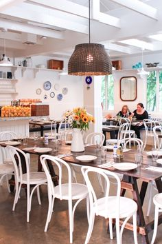 The gorgeous interior of Mandolin in Miami, an incredible aegean bistro, http://eye-swoon.com/magical-mandolin/