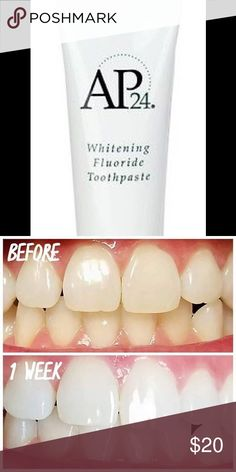 AP24 whitening toothpaste Nu Skin Whitening Fluoride Toothpaste AP24 NEW Other