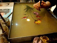 Ebru art - Painting on water