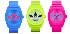 Adidas neon watches