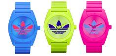 Adidas neon watches