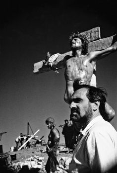 """Martin Scorsese filming """"The Last Temptation of Christ"""" (1988). COUNTRY: United States. DIRECTOR: Martin Scorsese."""