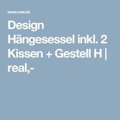 Perfekt Design Hängesessel Inkl. 2 Kissen + Gestell H | Real,
