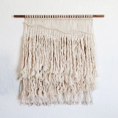 This large macrame wall panel in tones of ivory and copper—a celebration of line, volume, and texture—is designed especially for your boho-minimalist space. A gift for someone special indeed or a worthy splurge for yourself.  This item is made individually and by hand; therefore, details may vary slightly from what you see in the images here on this listing. Im more than happy to send progress shots by Etsy Conversation. //MATERIALS// Cotton rope, copper  //DIME...