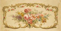 Aubusson tapestry design