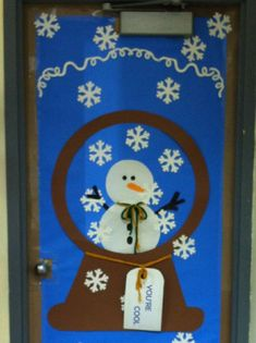 winter door decorating - Google Search