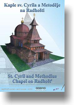 Papírový model - Kaple sv. Cyrila a Metoděje na Radhošti