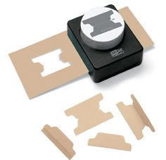 McGill - Punches - File Tab - Mini at Scrapbook.com $17.09