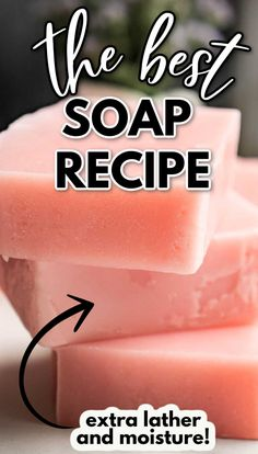 Handmade Soap Recipes, Soap Making Recipes, Handmade Soaps, Diy Soaps, Cold Press Soap Recipes, Homemade Soap Bars, Best Soap, Goat Milk Soap, Homemade Beauty Products