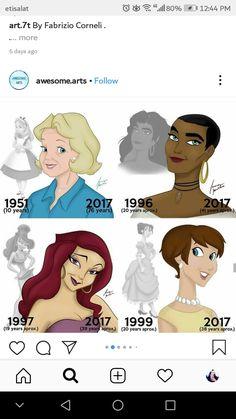 Dark Disney Art, Disney Fan Art, Disney And Dreamworks, Disney Pixar, Walt Disney, Disney Princesses And Princes, Disney Princess Dresses, Old Disney Characters, Disney Doodles