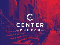 Center Church...this is a lot less simple than the others but if it had a picture of the city behind it with a simple logo that could be replicated, I like that.